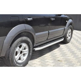 "Подножки ""Newstar Grey"" для Sportage."