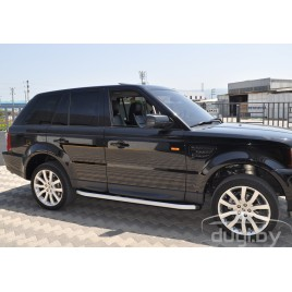 "Подножки ""Newstar Grey"" для Range Rover Sport (2005-2013)."