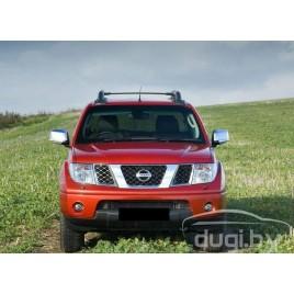 Накладки на зеркала (нерж.) для Nissan Pathfinder (2006-)