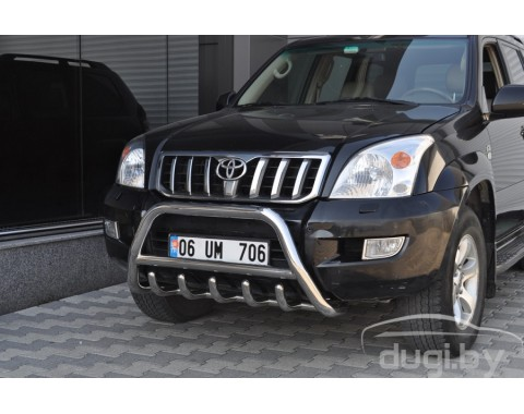"Кенгурятник ""Inform"" для Land Cruiser Prado 120."