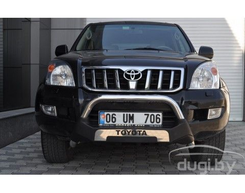 "Кенгурятник ""Amazon"" для Land Cruiser Prado 120."