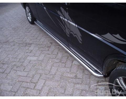 """Пороги """"Moonpart"""" для Volkswagen T5 (к.б.)."""
