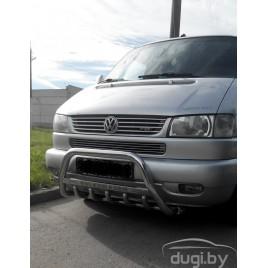 """Кенгурятник с надписью """"Volkswagen"""" для VW T4."""