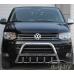 """Кенгурятник с надписью """"Volkswagen"""" для VW T5."""