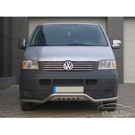 Защита бампера для Volkswagen Caravelle T5.