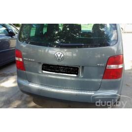 Накладка на задний бампер для VW Touran.