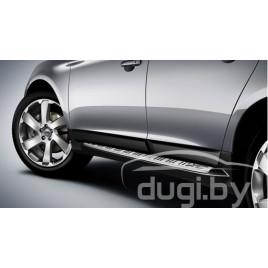 Пороги боковые для Volvo XC60.