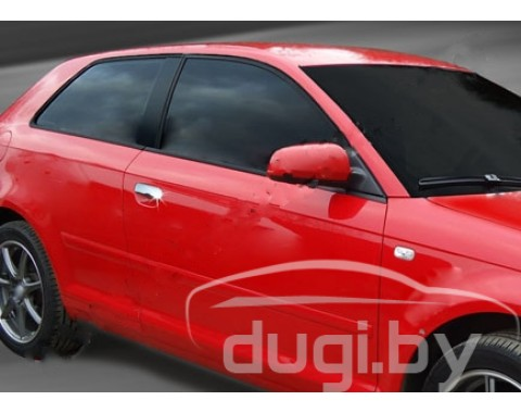 Хром накладки на дверные ручки  для Audi A3  (2-дверн.)