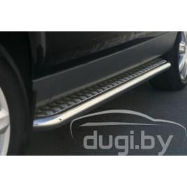 Боковые подножки (площадка C2) для Audi Q7