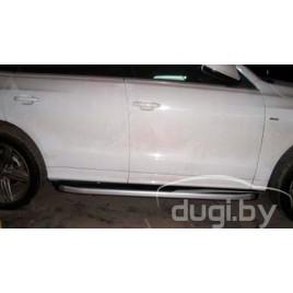 """Боковые подножки """"ALYANS"""" для Audi Q5"""